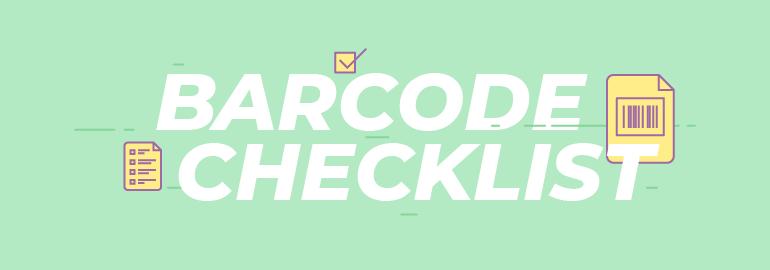 Barcode Registration